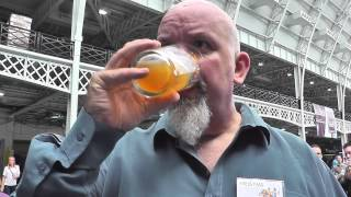 Castle Rock Screech Owl on cask GBBF Day 5 #04 beer review