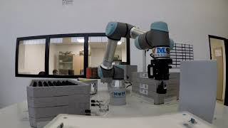 MGM Cobot Handling System - Sistema di manipolazione Robot UR5e