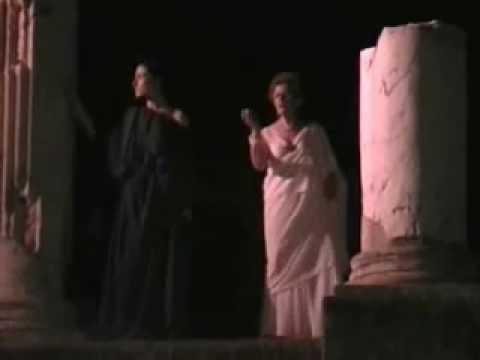 PORTE DELLA STORIA: MATIDIA E VIBIA SABINA - AGOSTO 2007 TEATRO ROMANO 13'34''.wmv