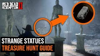 How To Complete The Strange Statues Treasure Hunt in Red Dead Redemption 2 Video