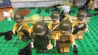 Лего военные. Советская Армия лего. 2 Мировая война.