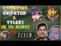 IRELIA GOD STOMPING TYLER1 AND SHIPHTUR IN 15 MINS? - League of Legends