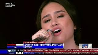 Cicit W.R Supratman Ini Mencuri Perhatian Saat Bernyanyi di Istana