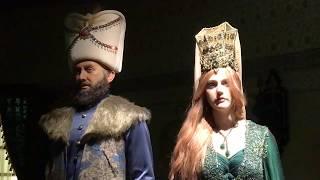 Выставка Великолепный век в Дубае|Музей восковых фигур|Хюррем Султан|Hurrem Sultan|турецкий сериал