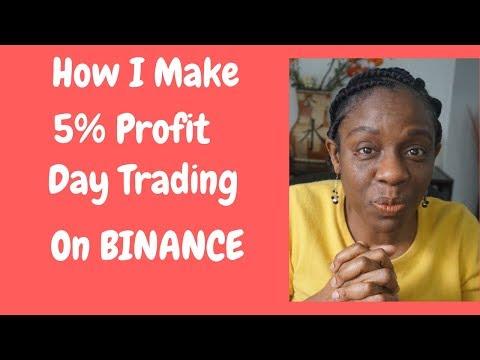 How I Make  5% Profit Day Trading On Binance