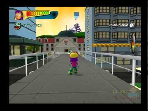 Nickelodeon Rocket Power Beach Bandits PS2 Gameplay ( THQ / Evolution )