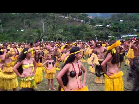 Marquesan Arts Festival Opening Ceremony, 2011