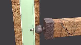 (주)엘리스우드 - 보행공간을 확장한 천연목재 데크로드…