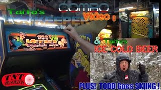 #915 Taito ZOOKEEPER Arcade Video Game-NO FEAR Pinball & ICE COLD BEER - TNT Amusements