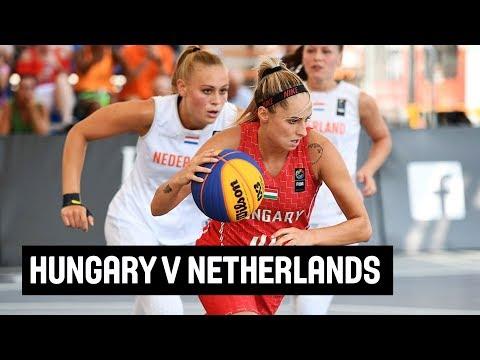 Hungary v Netherlands - Women's Full Game -Final- FIBA 3x3 U23 Nations League 2018 - Europe - Stop 5