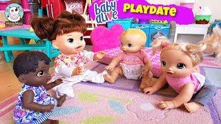 Скачать Baby Alive Playdate Juliet S Friends Come Over