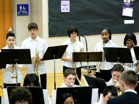 """North Whidbey Middle School Jazz Band """"The Jazz Police"""""""