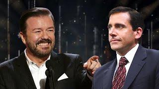Ricky Gervais Mocking Steve Carell