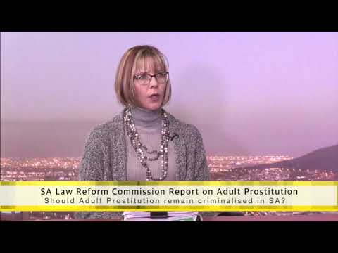Salt & Light looks at South African Law Reform Commission Report on Adult Prostitution