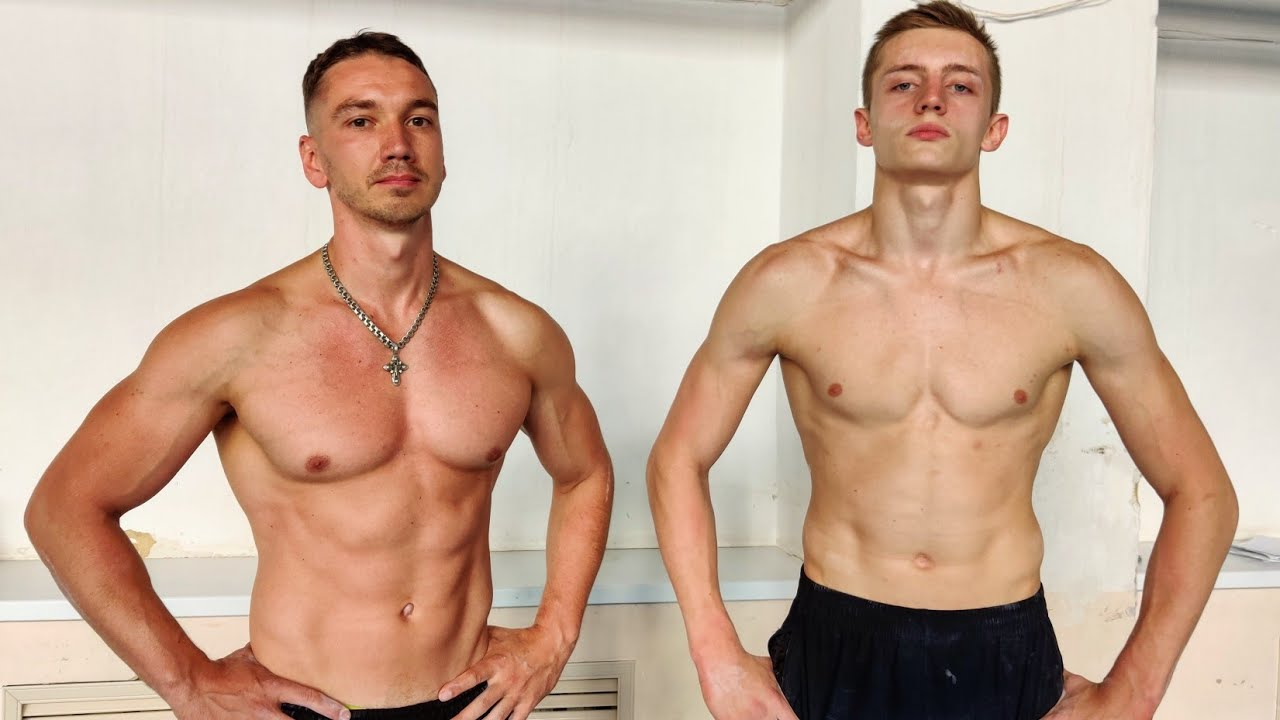 Заруба по выходам силой на кольцах: гимнаст против тренера