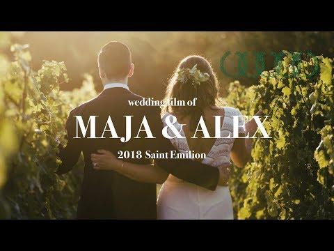 MAJA & ALEX beautiful wedding in South France Saint Emilion