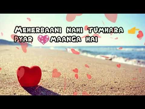 ♥️whatsapp status video // tera rasta main chhodoon na song