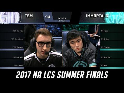 TSM vs IMT - Game 4 Grand Finals S7 NA LCS Summer 2017 - Team SoloMid vs Immortals