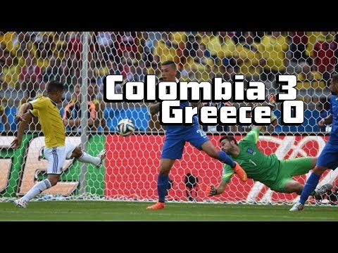 Colombia Dances To Victory [Colombia vs. Greece 3-0]