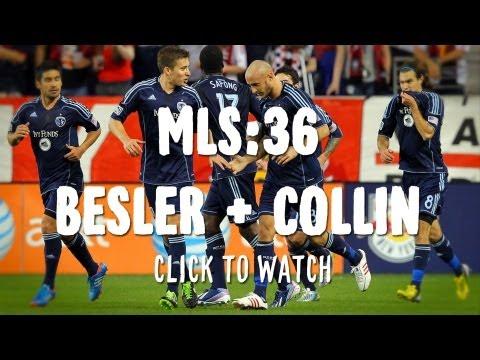 MLS 36 | Matt Besler and Aurelien Collin