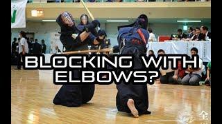 [KENDO RANT] - Blocking with Elbows? Left Heel Position?