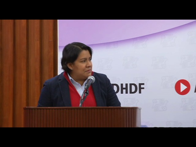 Discurso de la Dra. Perla Gómez en la entrega de Reconocimientos Ponciano Arriaga 2016