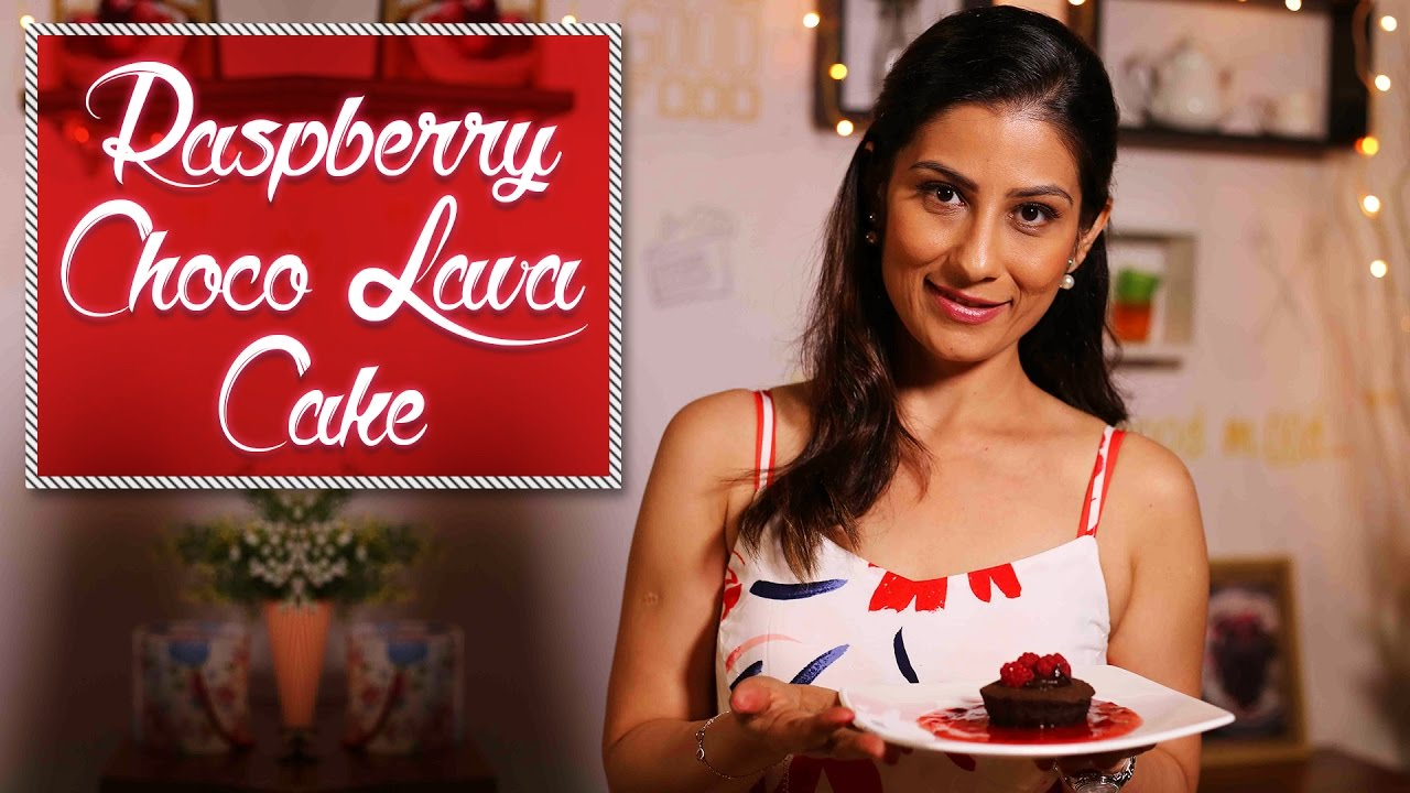 How to Make Choco Lava Cake with Raspberry Twist | Meghna's Food Magic | Pure Magic # 2