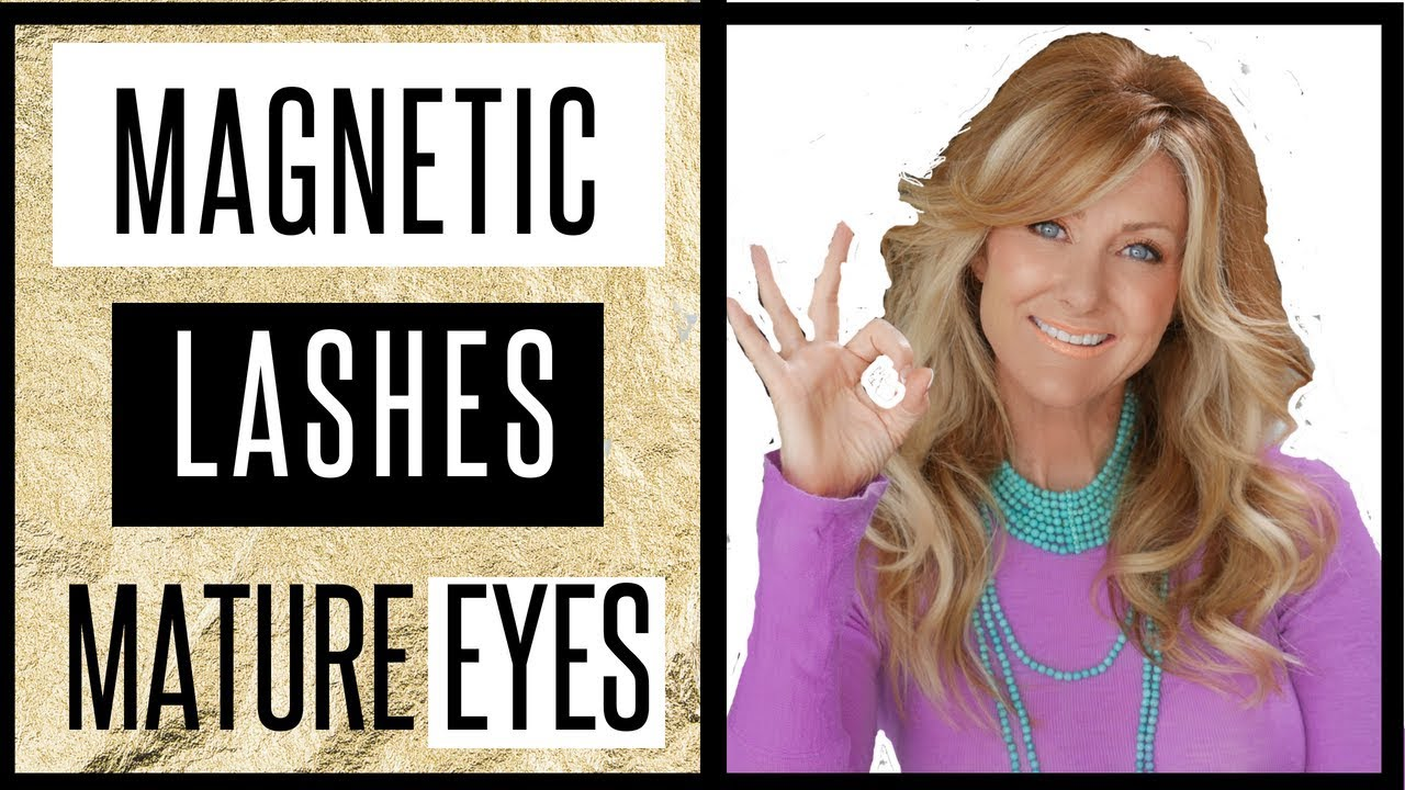 Magnetic Lashes For Mature & Hooded Eyes - 2018 - fabulous50s