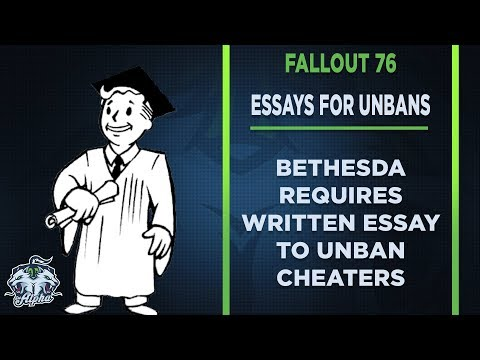 Bethesda Requires Written Essay for Fallout 76 Cheat Ban Removal thumbnail