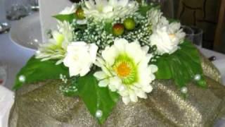 Букет цветов на столы гостей от студии праздника Радуга, Днепропетровск, шары, цветы, товары к празднику свадьба, флористика