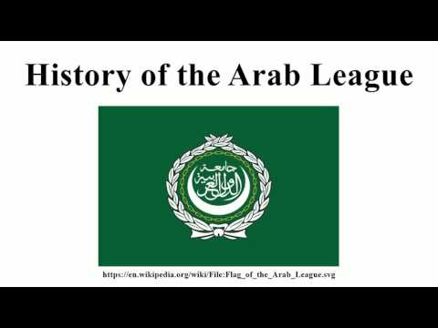 History of the Arab League