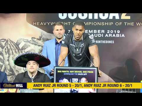 Inspiring ANTHONY JOSHUA Press Conference Speech (vs. Andy Ruiz) | William Hill Boxing