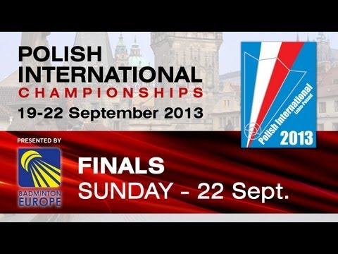 Finals - MS - Wang Tzu Wei vs Lin Yu Hsien - Polish International 2013