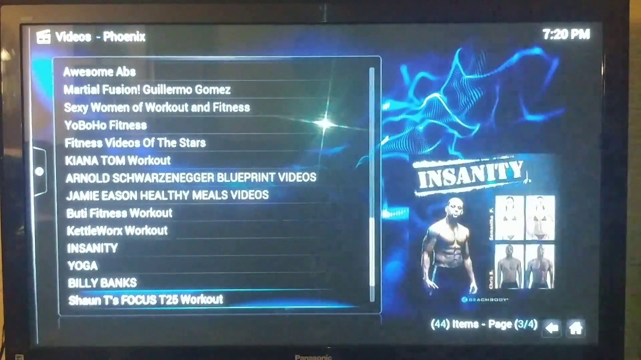 Exercise Workout Videos on Our Fully Loaded Amazon Fire TV Sticks