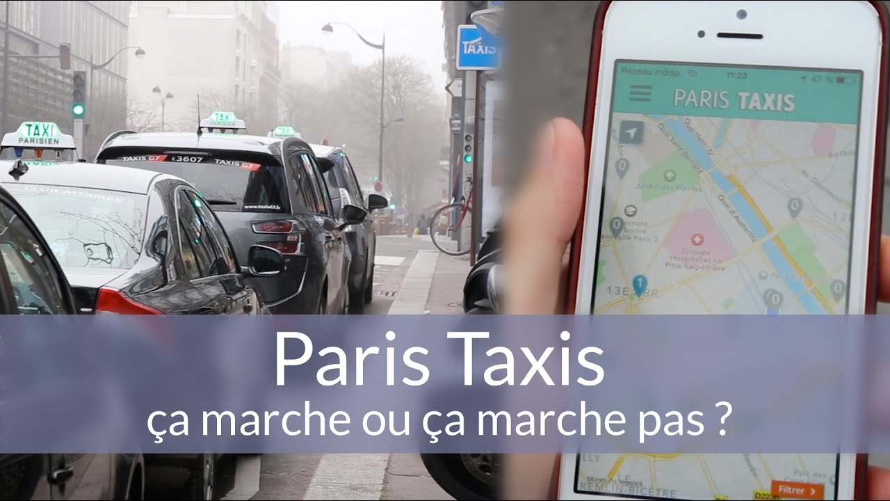 paris taxi l 39 application miracle de la mairie de paris youtube. Black Bedroom Furniture Sets. Home Design Ideas