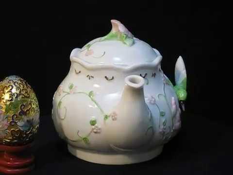 Teapot (hummingbird) music box series