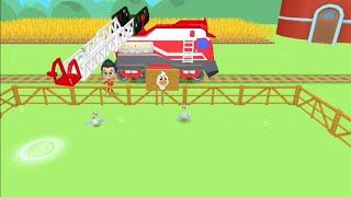 Play animal rescue train game, قطار انقاذ الحيوانات screenshot 4
