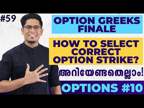 How to Select the Best Option Strike? Option Greeks Finale   Learn Options Trading Malayalam #10