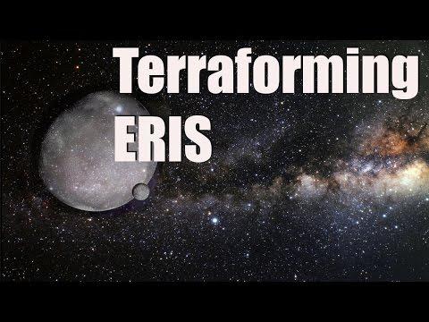 Universe Sandbox 2 - Terraforming Eris - Tidal Heating