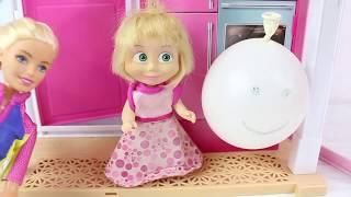 Barbie Ve Masha Evcilik Oynuyor Çizgi Film İzle