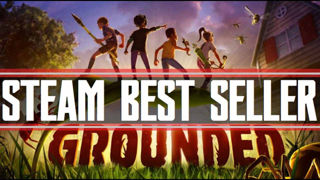 Grounded Is A Steam Best Seller