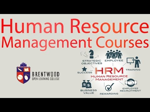 Human Resource Management Courses Online