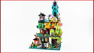 LEGO 71741 NINJAGO City Gardens Speed Build for Collectors - Brick Builder