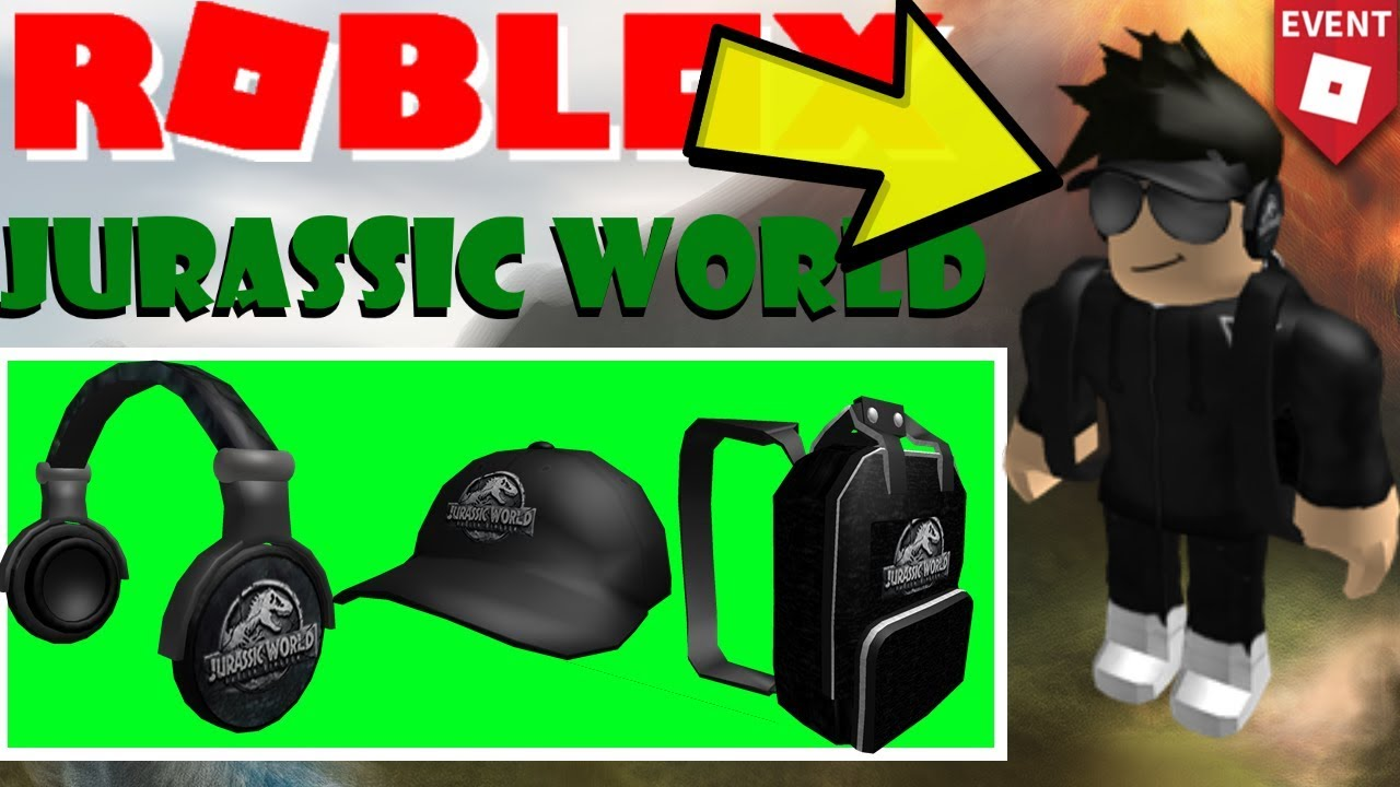 Roblox Jurassic World Event How To Get All The Items Make A