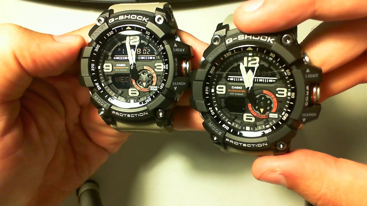 I was sold a fake Casio Mudmaster on eBay! GG-1000