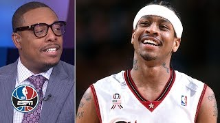 Paul Pierce wanted to prove himself against Allen Iverson, 76ers in his first playoffs | NBA on ESPN