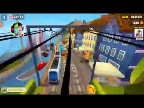 SUBWAY SURFERS - LANDSCAPE - WORDY WEEKEND