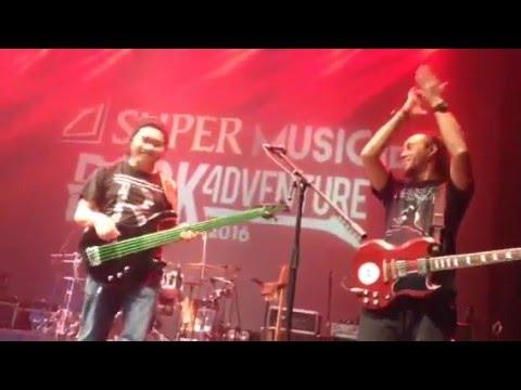 #RockAdventure2016 | Musikimia Ft Eben Burgerkill - Redam (Sabuga Bandung)