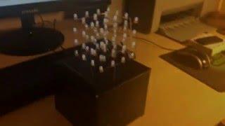 Как сделать светодиодный куб своими руками!(Для этого нам потребуется: - Arduino uno - 64 светодиода - Провода - Припой(олово) - Коробка подходящая по размерам..., 2016-05-11T04:36:43.000Z)