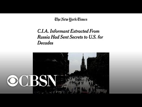 Former intel official on reports that CIA extracted a high-level spy from Russia